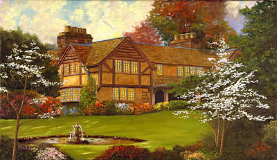 Art Print featuring the painting Topsmeade House by Rick Fitzsimons