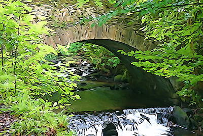 Photograph - Torc Bridge by Charlie and Norma Brock