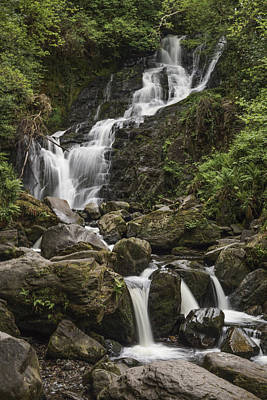 Photograph - Torc Falls by John and Julie Black