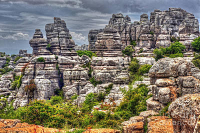 Photograph - Torcal De Antequera 1 by Rod Jones