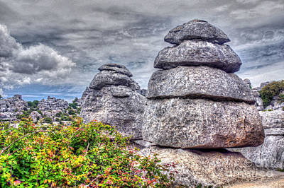 Photograph - Torcal De Antequera 2 by Rod Jones