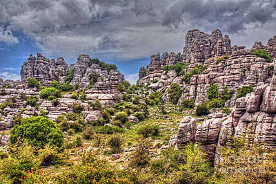 Photograph - Torcal De Antequera by Rod Jones