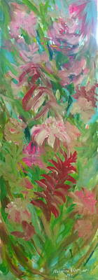 Painting - Torch Ginger Flower by Wanvisa Klawklean