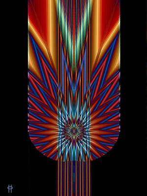 Torch Art Print by Jim Pavelle