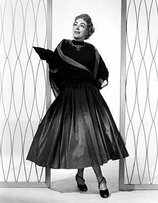 Full Skirt Photograph - Torch Song, Joan Crawford, In A Gown by Everett