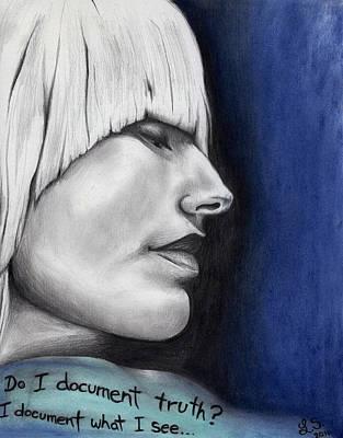 Tori Amos As Isabel Art Print by Leia Sopicki