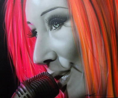 ' Tori Amos ' Art Print by Christian Chapman Art