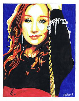 Tori Amos Art Print by Eric Hamilton