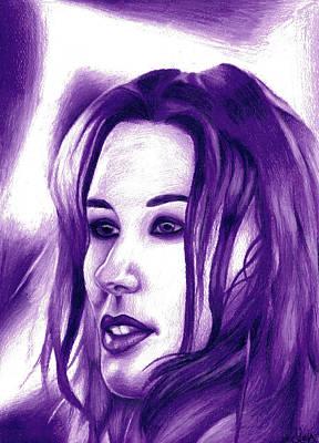 Tori Amos To Venus Art Print by Leia Sopicki