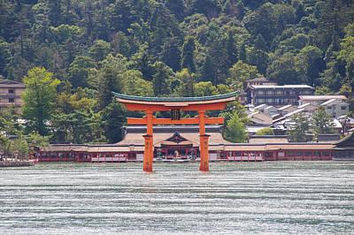 Torii Gate Of Miyajima Art Print