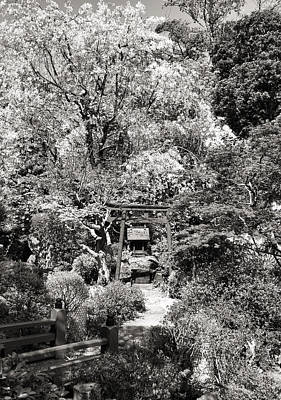 Photograph - Torii In A Japanese Garden In Tokyo by For Ninety One Days