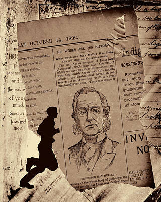 Photograph - Torn Paper Notes 1802 by Bob Orsillo