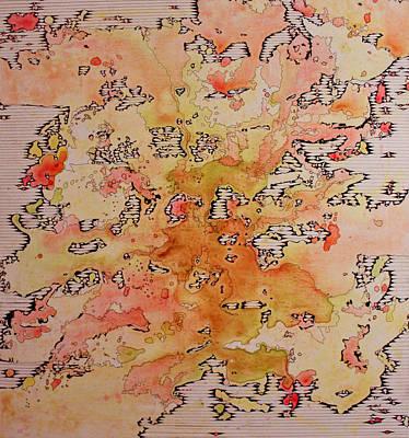 Torn Repeat Art Print by Michelle DeBonis