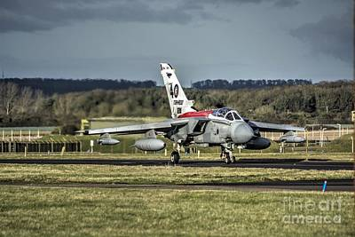 40th Anniversary Photograph - Tornado 40th Anniversary Tail by Leslie Brown