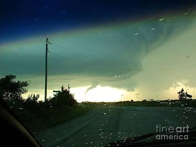 Photograph - Tornado 6 12 04 by Cheryl Poland