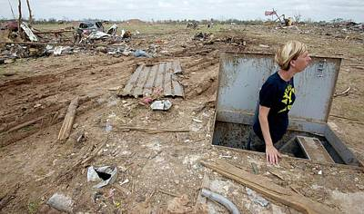 Extreme Weather Photograph - Tornado Aftermath by Bradley C. Church