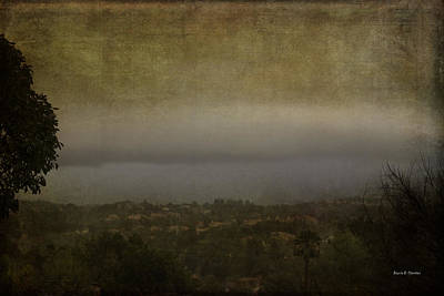 Kim Fearheiley Photography Royalty Free Images - Tornado Cloud Over the Hills in California  Royalty-Free Image by Angela Stanton