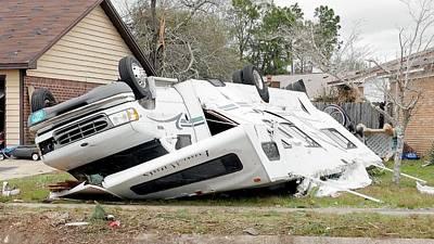 Extreme Weather Photograph - Tornado Damage by Jim Edds