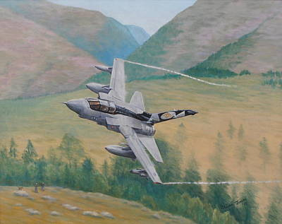 Tornado Gr4 - Shiny Two Flying Low Original