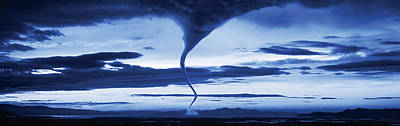 Tornado In The Sky Art Print by Panoramic Images