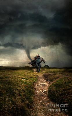 Photograph - Tornado by Jaroslaw Blaminsky