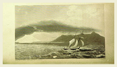 Tornado, Narrative Of A Voyage Of Observation Among Art Print by Litz Collection