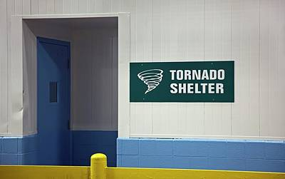 Factory Photograph - Tornado Shelter by Jim West