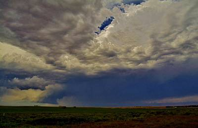 Photograph - Tornado Warned Denver Supercell by Ed Sweeney