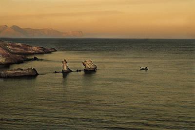 Sicily Digital Art - Tornano I Pescatori by William Fields