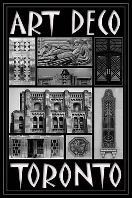 Photograph - Toronto Art Deco 1 by Andrew Fare