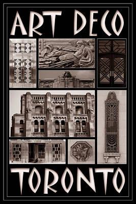 Photograph - Toronto Art Deco 2 by Andrew Fare