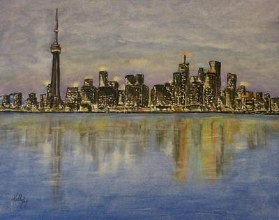 Painting - Toronto City Canada by Kelly Mills