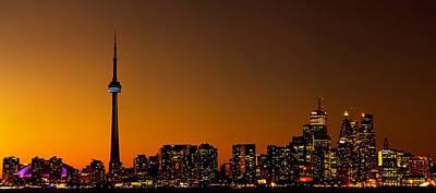Photograph - Toronto Cityscape by Marek Poplawski