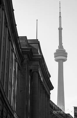 Photograph - Toronto Cn Tower by Matt  Trimble