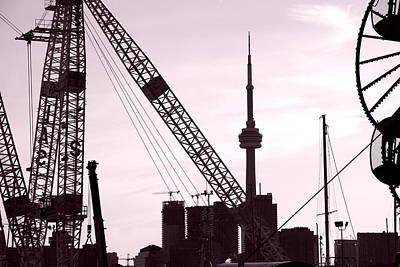 Photograph - Toronto Cn Tower by Valentino Visentini