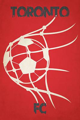Net Photograph - Toronto Fc Goal by Joe Hamilton