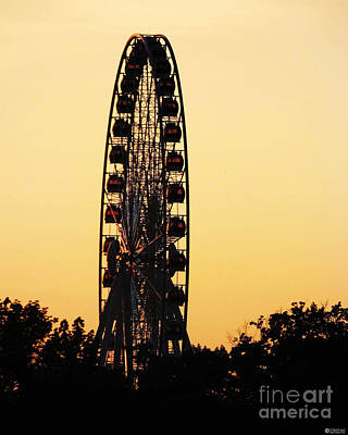 Photograph - Toronto Ferris Wheel Niagara Falls by Lizi Beard-Ward