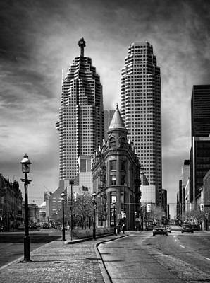 Toronto Flat Iron Building Art Print by Steve Silverman