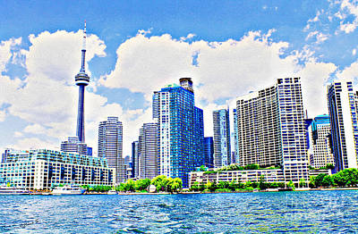 Photograph - Toronto Harbour On A Sunny Day by Nina Silver