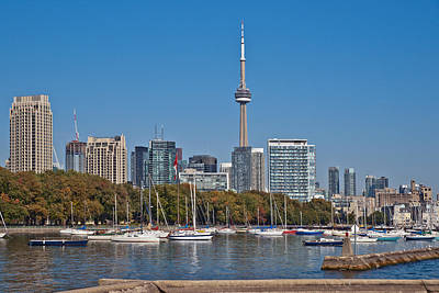 Photograph - Toronto High Rise Cityscape Panorama Tower Luxury Condominium by Marek Poplawski