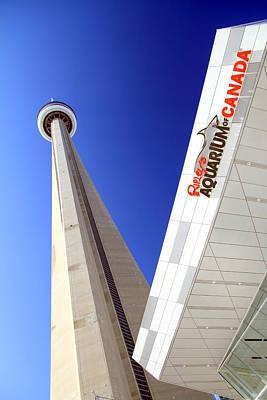 Toronto Landmarks Art Print by Valentino Visentini