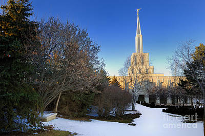 Toronto Lds Mormon Temple Art Print