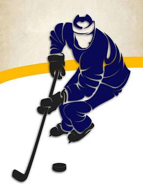 Toronto Maple Leafs Rink Art Print by Joe Hamilton