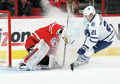 Photograph - Toronto Maple Leafs V Carolina by Gregg Forwerck