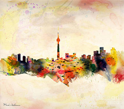 Toronto  Art Print by Mark Ashkenazi