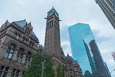 Photograph - Toronto Old City Hall by Marek Poplawski