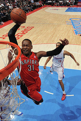 Photograph - Toronto Raptors V Los Angeles Clippers by Andrew D. Bernstein