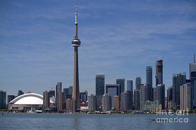 Photograph - Toronto Skyline by Jale Fancey