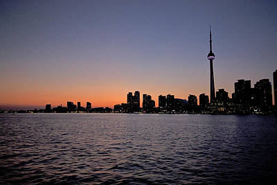 Wild And Wacky Portraits - Toronto skyline  by Joel  Bourgoin