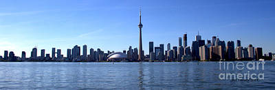 Photograph - Toronto Skyline Panorama by Jale Fancey